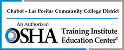 OSHA Safety Compliance Training for the Workplace in California Nevada Arizona Hawaii & Guam Logo